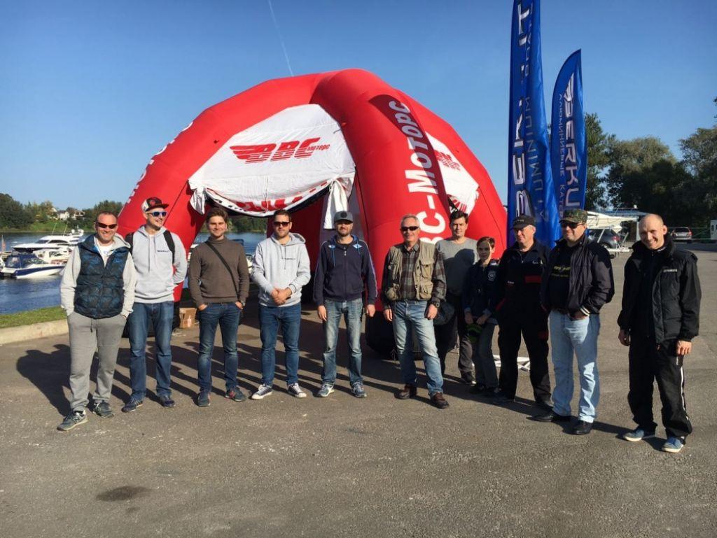 Мероприятие по поддержке клиентов Yamaha и компании Беркут.