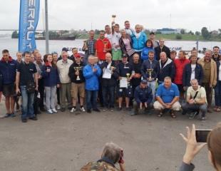 Первое место на международной маршрутной гонке по водно-моторному спорту «Санкт-Петербург-Орешек»